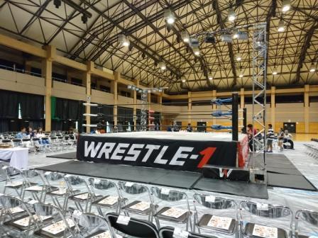 WRESTLE-1 TOUR 2016観戦!