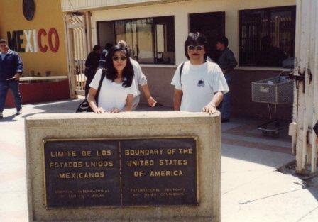 1997 LA旅行記 結婚10周年は憧れのLAからメキシコ国境の町ティファナまで・・・