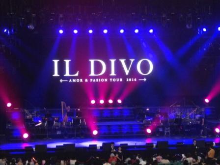コンサート日記#8♪ 2016 IL DIVO